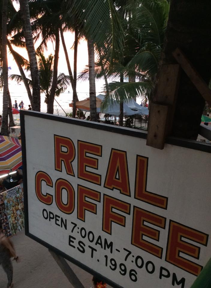 Real Coffee & Tea Cafe Boracay