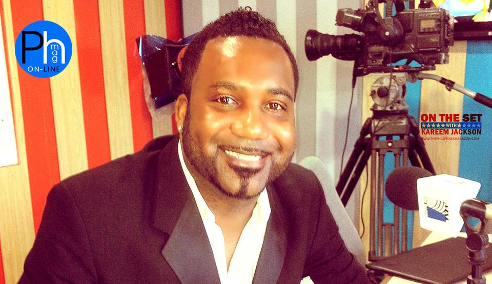 Phmag-Kareem On the Set